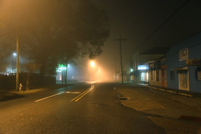 foggy night two