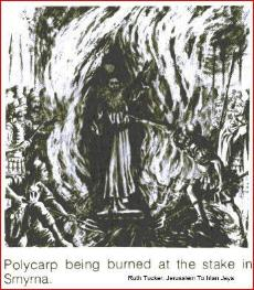 polycarp in the flames