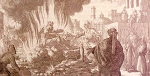 polycarp in the flames again