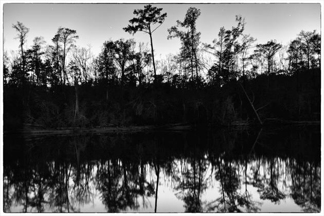 Black Lagoon at night