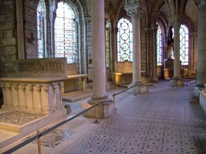 To the Tomb of Louis IX