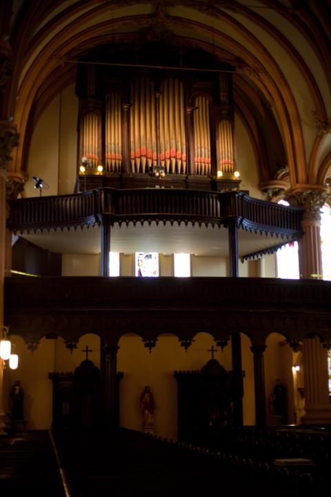 Organ at St. Mary's