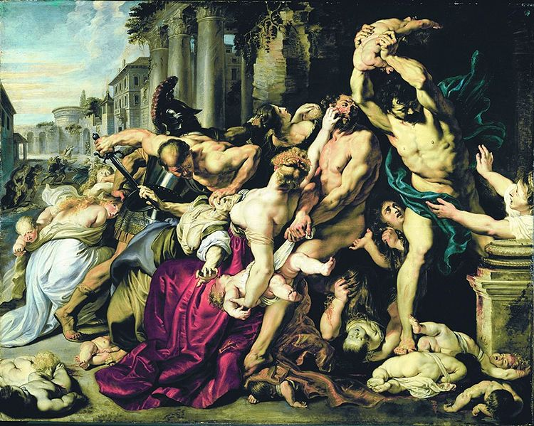 Peter Paul Rubens Massacre of the Innocents.