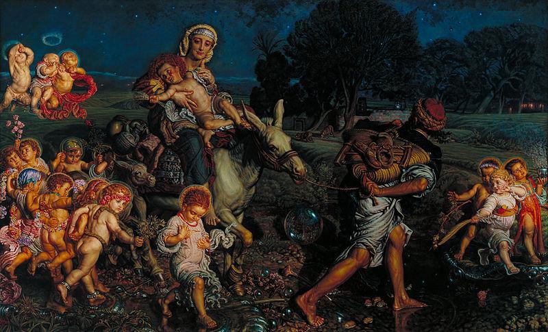 William Holman Hunt - The Triumph of the Innocents