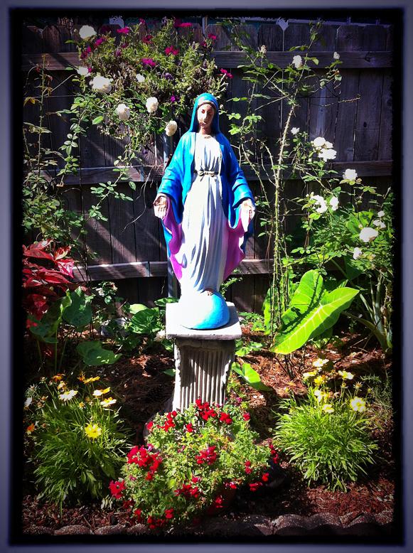 the Marian Garden