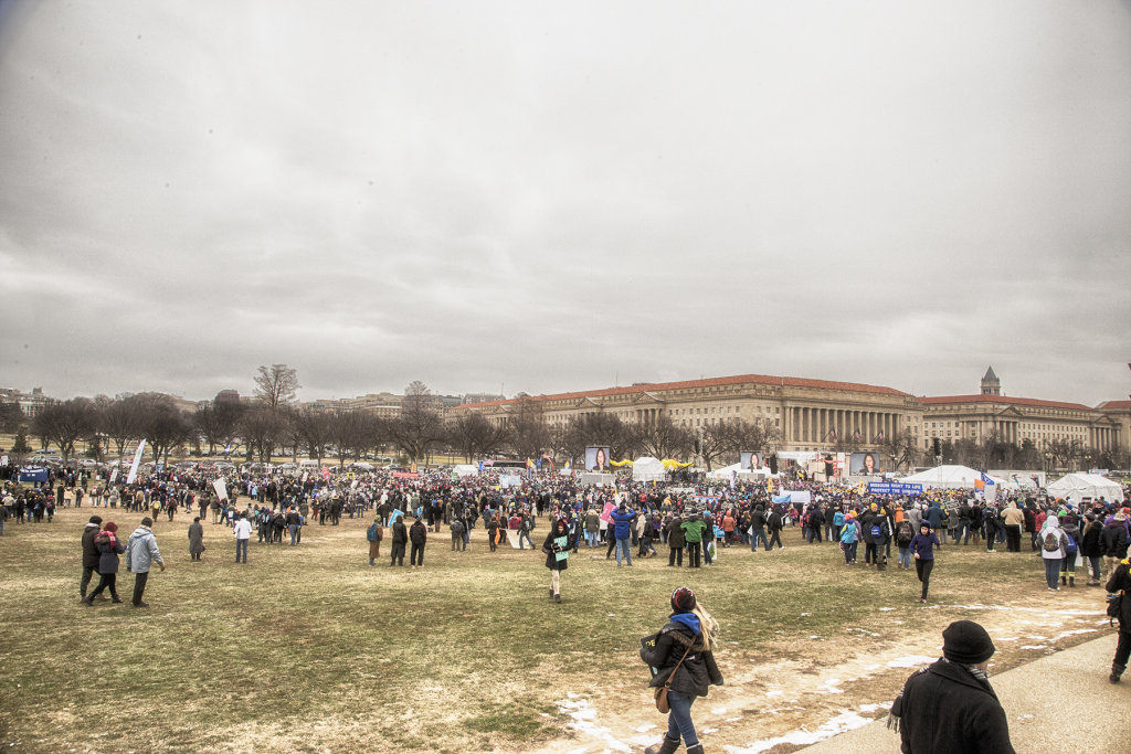 At The March for Life 2016