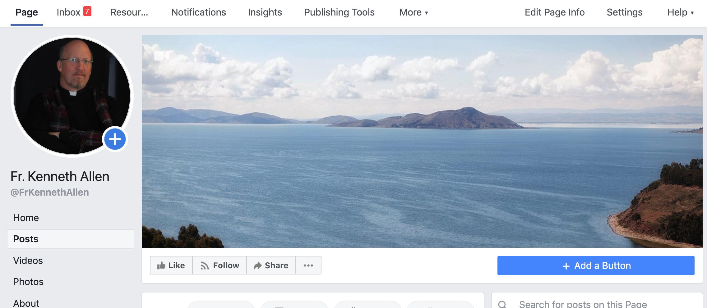 My Facebook Header